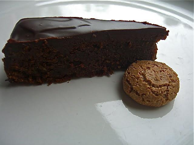 Dorie Greenspan's Chocolate Amaretti Torte | Lemons and ...